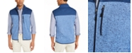 Club Room Men's Colorblock Fleece Sweater Vest, Created for Macy's