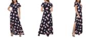 Tommy Hilfiger Floral-Print Maxi Dress
