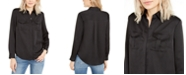 INC International Concepts INC Hidden-Placket Utility Shirt, Created For Macy's