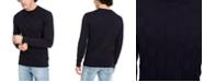 A|X Armani Exchange Men's Check Sweater