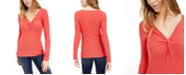 INC International Concepts INC Twist-Front Sweater, Created For Macy's