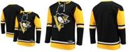 Majestic Men's Pittsburgh Penguins Franchise Lace Up Crew Sweatshirt