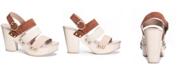 Chinese Laundry Flower Platform Sandals