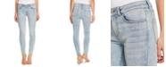 CeCe Contrast-Trim Skinny Jeans