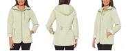 Jones New York Water-Resistant Hooded Quilted Jacket