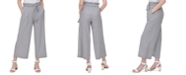 Calvin Klein Belted Wide-Leg Pants