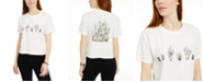 Rebellious One Juniors' Cactus Back Graphic T-Shirt