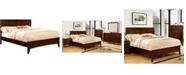 Furniture of America Bryant Queen Platform Panel Bed
