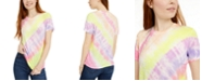 Self Esteem Juniors' Printed Diagonal Tie-Dye T-Shirt