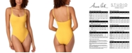 Anne Cole STUDIO Vintage-Inspired One-Piece Swimsuit