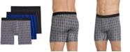 Jockey Men's Flex 365 Modal Stretch Boxer Brief 3 pack, Created for Macy's