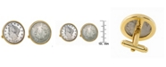 American Coin Treasures 1883 First-Year-Of-Issue Liberty Nickel Bezel Coin Cuff Links
