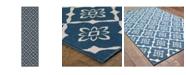 """JHB Design Apex APE08 Navy 2'3"""" x 7'6"""" Runner Rug"""