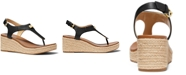 Michael Kors Laney Thong Espadrille Sandals