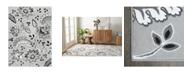 "Global Rug Designs Haven Lane Hal04 Gray 5'2"" x 7'2"" Area Rug"
