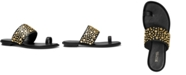 Michael Kors Sonya Studded Flat Sandals