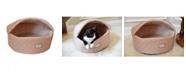 Armarkat Cuddle Cave Cat Detachable Collapsible Zipper Top Bed