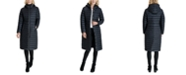 Michael Kors Hooded Down Maxi Packable Puffer Coat, Created for Macy's