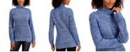 Style & Co Cotton Mock-Neck Sweater, Created for Macy's