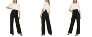 Quiz Two-Tone Sheer Sleeve Jumpsuit
