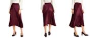 Alfani Mixed-Media Pleated Skirt, Created for Macy's