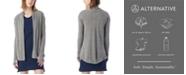 Alternative Apparel Rib Sleeve Eco-Jersey Women's Wrap Cardigan