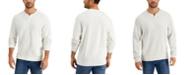 Tommy Bahama Men's Flipshore Abaco Reversible Split-Neck Sweatshirt
