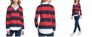 Tommy Hilfiger Striped Rugby Sweater