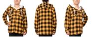 Derek Heart Trendy Plus Size Plaid Hooded Top