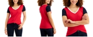 Tommy Hilfiger Cotton Colorblocked T-Shirt