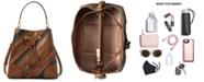 Michael Kors Mercer Gallery Medium Leather Convertible Bucket Bag