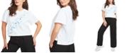 GUESS Sybella Cotton Logo-Graphic T-Shirt