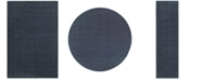 JHB Design Tidewater Casual Navy/ Grey Area Rugs
