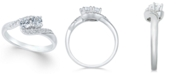 Two Souls, One Love® Diamond Anniversary Ring (1/2 ct. t.w.) in 14k White Gold