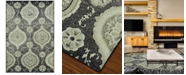 """D Style CLOSEOUT! Menagerie MEN1548 Stone 3'3"""" x 5'1"""" Area Rug"""
