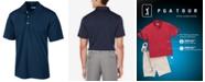 PGA TOUR Men's Slim Airflux Golf Polo Shirt