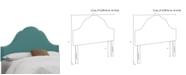 Skyline Jenny Nail Button Headboard - California King