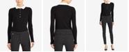 Lauren Ralph Lauren Contrast-Collar Sweater