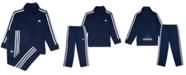 adidas Baby Boys 12-24 M 2-Pc. Three-Stripe Track Suit