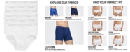 Calvin Klein Men's 6-Pk. Cotton Classics Briefs