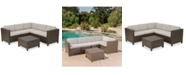 Furniture Westin Outdoor 6-Pc. Sectional Sofa Set, Quick Ship