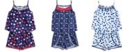 Epic Threads Toddler Girls Ruffle-Trim Tank Top & Pom Pom-Trim Shorts, Created for Macy's