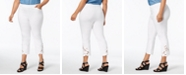 INC International Concepts INC Plus Size Lace-Hem Cropped Pants, Created for Macy's