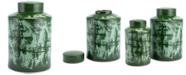 Zuo Anguri Large Temple Jar Green