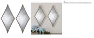 Uttermost Gelston Silver Mirror, Set of 2