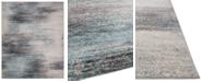 KM Home Steelo Coast Aqua 5' x 8' Area Rug