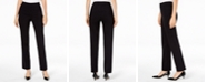 JM Collection Pull-On Tummy Control Slim-Leg Pants, Short Length, Created for Macy's