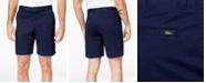 "Lacoste Men's Regular Fit Stretch Gabardine 8.5"" Shorts"