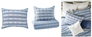 Peri Home Puckered Stripe Standard Sham
