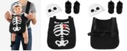 Carter's Baby Boys & Girls 3-Pc. Hat, Skeleton Costume & Booties Costume Set